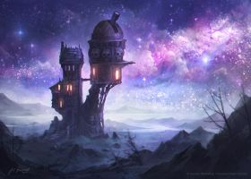 Lair of the Astromancer by jcbarquet