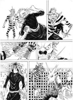 One Piece Another Road   #0     - Jatto vs Songon by CMan96