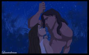 Tarzan and Jane by Laurine-Tellier