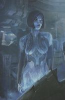 cortana's new look halo 4 by dragonlover030393