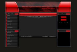 RedLayoutClanDesign PSD by ChillerPerser
