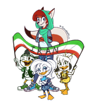 Ducktales WOOHOO! by Snowballflo