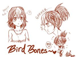 Bb Sketches by shock777