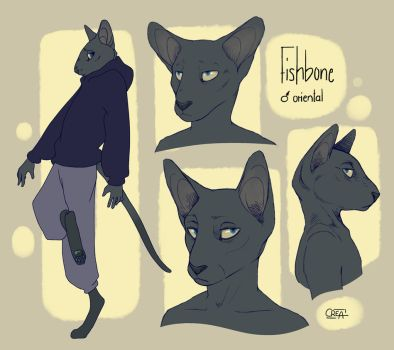 Fishbone sketches by creanima