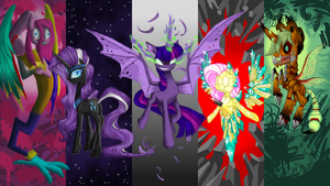 CRYSTAL EMPIRE CONTEST ENTRY: Negative Elements by xilenobody143