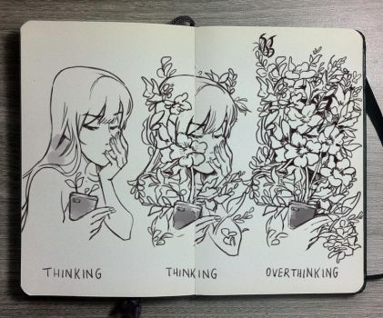 #11 The Overthinker by Picolo-kun