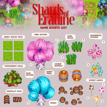 Shards of Eradine game assets list part 1 by Pykodelbi