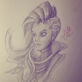 Overwatch : Sombra by Aimochan