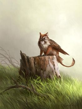 Small Griffin by sandara
