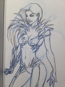 Witchblade from Last Year by AspenTurner
