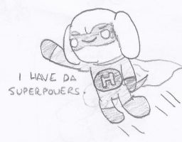 The Journey to Happyness - Superpowers by cagstoon