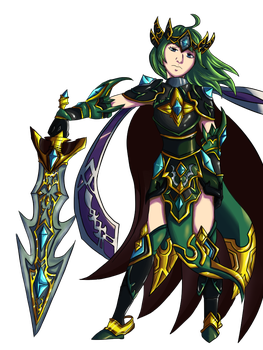 War Queen Ophelia-Collab with Candygirl23o3 by Hyrchurn