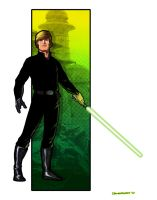 50 Characters: Luke S. Colors by MBDavenport