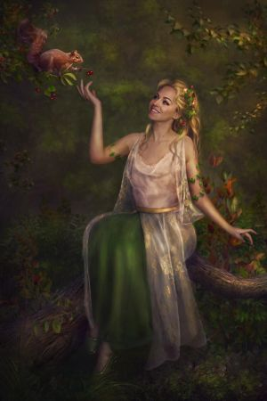 Forest Fairy by Lotta-Lotos
