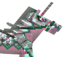 Minecraft Edit Normal Mo Creatures Horse To Ghost by WhistlingDixie2001
