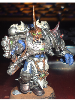 Chaos Chosen Space Marine by reaper5831
