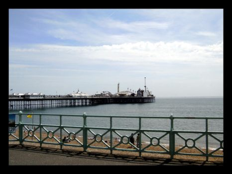 The East Pier, Brighton by seabrownthree