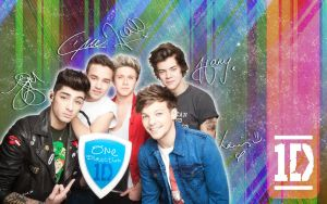 One Direction Wallpaper #10 by MeganL125