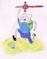 Finn the Human by DarwinTFish