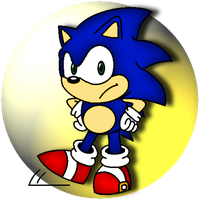 Sonic the Hedgehog by JomoOval