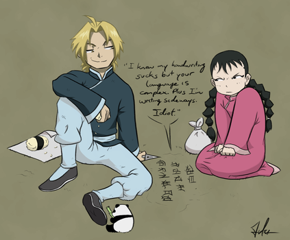 FMA Reverti: Ed and May by BeJuled