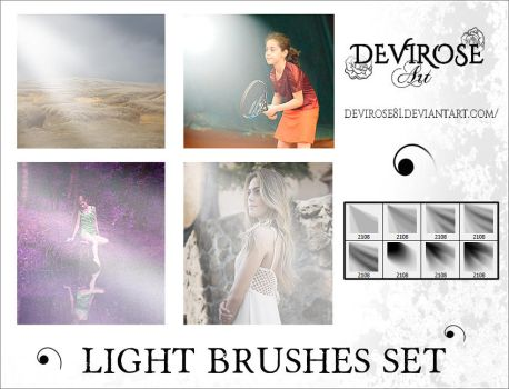 Ligh Brushes Set by Devirose81