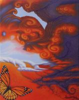 Butterfly Effect, Chaos Theory (Acrylic) by Rick-Lilley