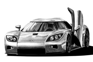 Koenigsegg CCX by autodrawings