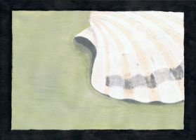 Shell - Painting by Martywolf92