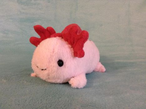 Plush Axolotl *FOR SALE* by Thatotterthing