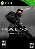 Halo 2: Anniversary   Version III Fan Made Box Art by DANYVADERDAY