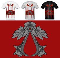 Assassins Creed Costume Shirt by Enlightenup23
