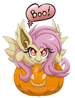 Pony from pumpkin by Feneksia-Creations
