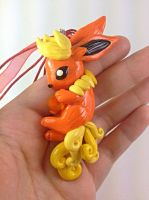 Flareon with Firestone Necklace 2