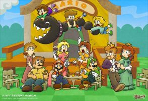 Mansion Family Table by hambammich64 on DeviantArt |Luigis Family Tree
