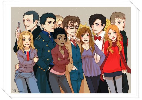 Memory one - Doctor Who by Moemai