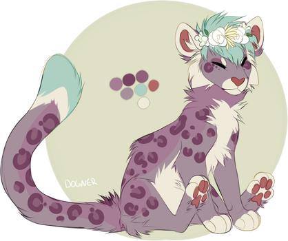 snow leopard adopt closed by dogner