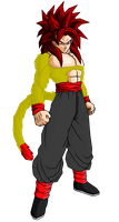 Torock SSJ4 Tenkaichi Edit (Legacy of Torock) by I-Am-So-Original
