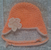 Coral Baby Hat by YunisUnis