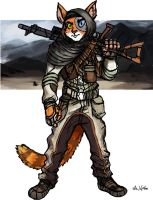 Cat Resistance Fighter by TheLivingShadow