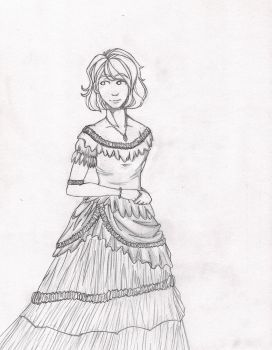 Emily's Southern Dress by Cain-Wright