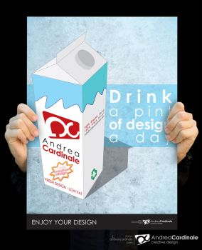 Drink a pint of design a day by andreacardi