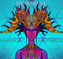 Loneskull Goddess by Tiduk