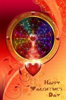 Valentine's Day - Greeting Card by Lilyas