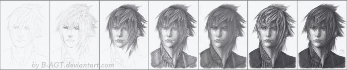 Noctis Lucis Caelum WIP by B-AGT