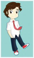 Chibi Chuck by Jackie-the-druid