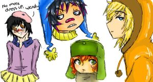 funny doodles 2_iscribble pron by XXXXwitlee