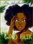 my definition of 'good' hair by Chrissy-Christine