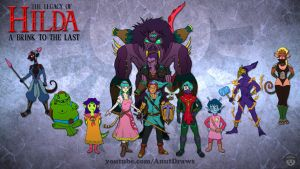 Legacy of Hilda: A Brink to the Last by AnutDraws