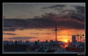 Berlin Sunset HDR by RRVISTAS